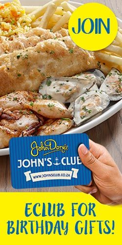Join John Dorys eClub For Birthday Gifts