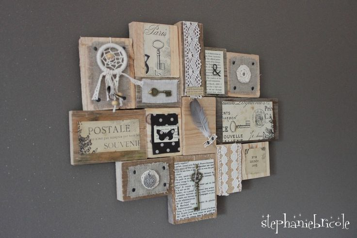 Une mosaïque de cadre romantique par Stéphanie Bricole : http://www.stephaniebricole.com/archives/2016/10/19/34459495.html