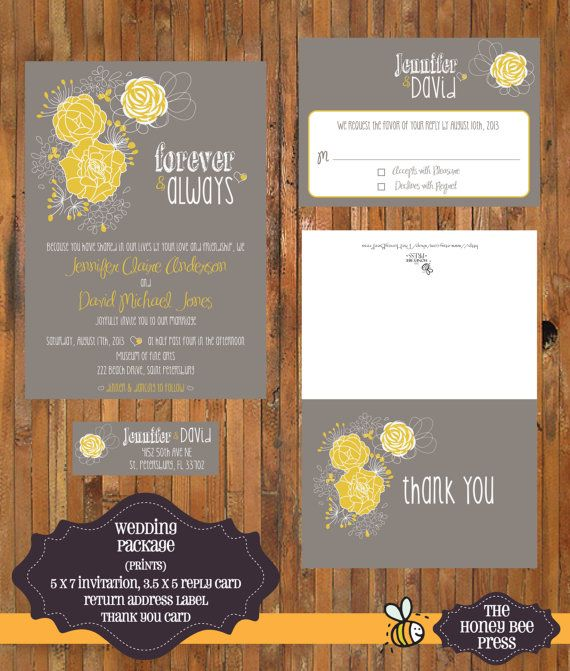 Best 25 Modern wedding reply card ideas ideas – Party Invitation Reply