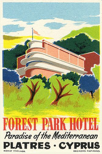 Forest Park Hotel Platres Cyprus