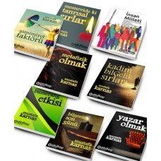 8 Adet Kişisel Gelişim Kitabı - Ars Goetia Hediye - Ücretsiz Kargo