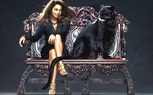 janet jackson black cat | oh janet jackson & her big cat