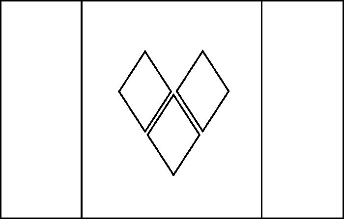 st  vincent flag coloring page  with images