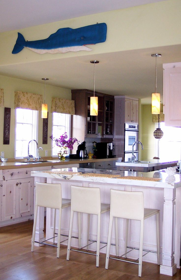 Charming modern country kitchen by Kamaren Henson of Space ...