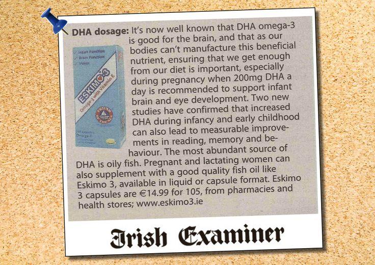 Eskimo-3 media coverage in the Irish Examiner | wholefoods.ie