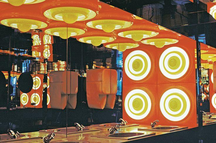 Verner Panton's Restaurant Varna Aarhus, 1971