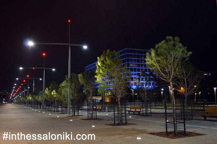 ● Thessaloniki - Nea Paralia (New Warterfront) Nightshot   ● Θεσσαλονίκη, Νέα Παραλία, Νυχτερινή Λήψη   ● #thessaloniki #nightshot #night #greece #macedonia #nea #paralia #θεσσαλονικη #νεα #παραλια #νυχτερινη #φωτογραφια