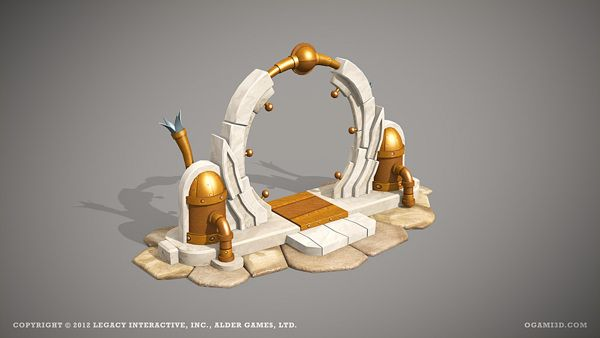 Legends of Atlantis Exodus - ingame 3D models on Behance