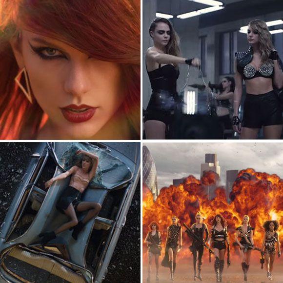 Taylor Swift porte pour 13 000$ de vêtements érotiques dans son nouveau clip et les rapporte à la maison | HollywoodPQ.com