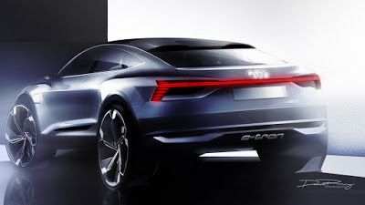 Audi e-tron Sportback koncept: 370 kW - osigurava ubrzanje od 0 do 100 km/h za samo 4,5 sekundi