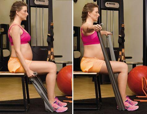 Grávidas que malham: conheça o treino para ficar ativa durante os nove meses Treino sob medida