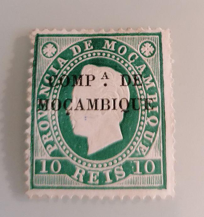 Timbre Mozambique 1892 Surimprime Mo4 Philatelie Formulaire