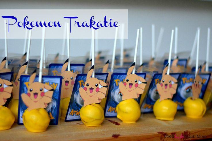 Pokemon traktatie / Pikachu Cakepops // Food & So Much More