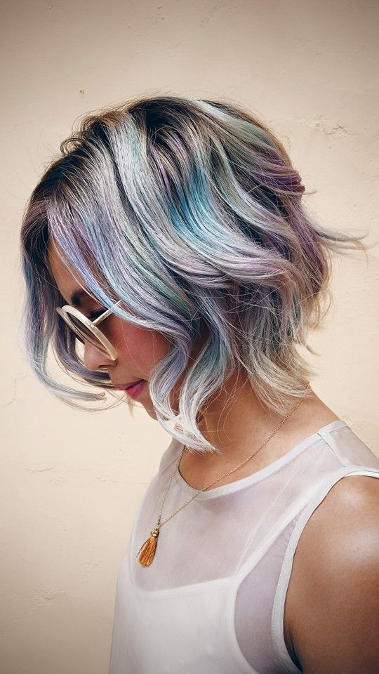 Oil Slick Hair: The Epic New Rainbow Hair Technique