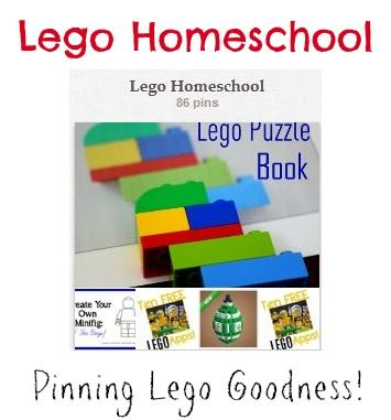 Lego Homeschool - lots of ideas here My boys were going crazy looking at some of these....so excited to use!!