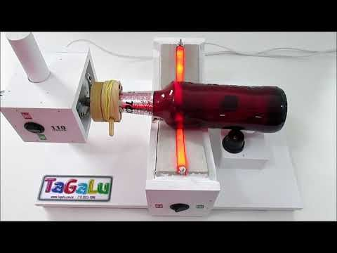 Coratador de garrafas automático Tagalu - YouTube