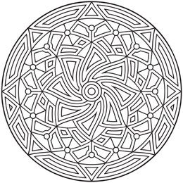 adult printable coloring pages viewing gallery for geometric pattern coloring pages for adults