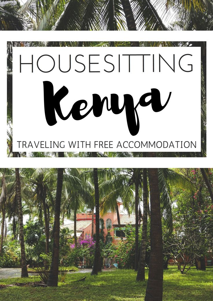 Guide on how to get started with housesitting and what it's like to have a sit in Kenya. #Travel #savemoney  #housesittingkenya
