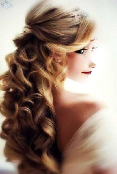 Elsa et ses magnifiques cheveux bouclés!!!!!!