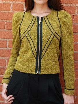 shopstyle.com: BENSONI boiled wool piped jacket