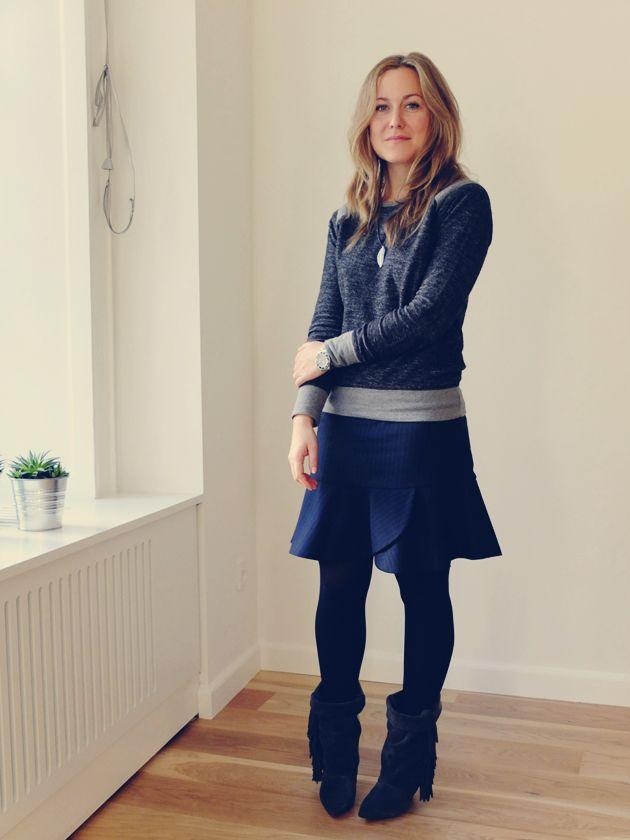 Nålestriber, nye støvler og nyt hår - Emily Salomon