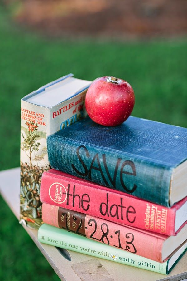 "Old school ""save the date"" announcements 