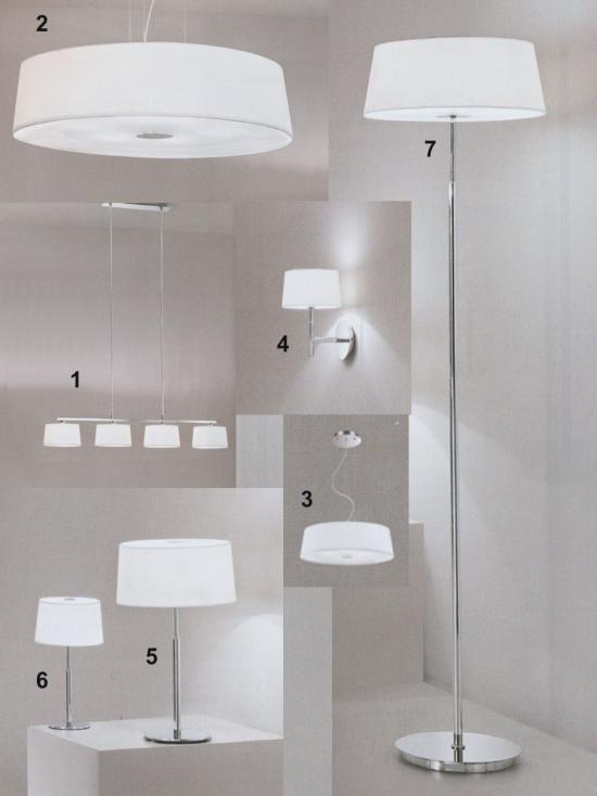 Svietidlá.com - Ideal-lux - Hilton - Moderné svietidlá - svetlá, osvetlenie, lampy, žiarovky, lustre, LED