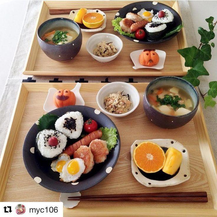 おにぎりもおかずも、かぼちゃもかわいい♡ #onigiriaction #朝時間 #朝ごはん  あなたの朝ごはんや朝の過ごし方をハッシュタグ「#朝時間」をつけて投稿してください♪すてきな写真は朝時間.jpのInstagramやサイト、アプリでご紹介させていただきます  #Repost @myc106 さんより ❁ おはようございます☺︎ 今朝は梅と昆布のおにぎりで朝ごはん☺︎ 私も #おにぎりアクション2016 キャンペーンに参加したいと思い おにぎりにしてみました ひとりでも多くの子供達がおなかいっぱい食べれますように 今日も良い1日を«٩(*´ ꒳ `*)۶» コメントお休みします♡