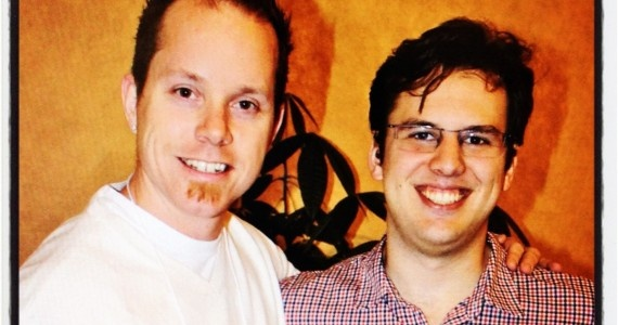 Mike Krieger and I at WarmGun2011