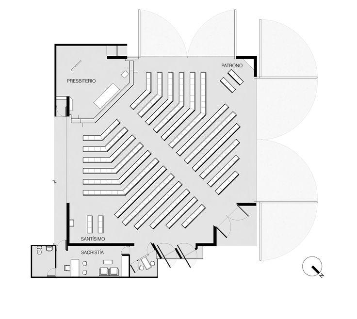 Image 22 of 28 from gallery of San Alberto Magno Chapel / Juan Pavez Aguilar + José Requesens Aldea. Plan
