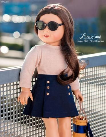 Spotted on the Street – Create this look for your American Girl dolls with the L…