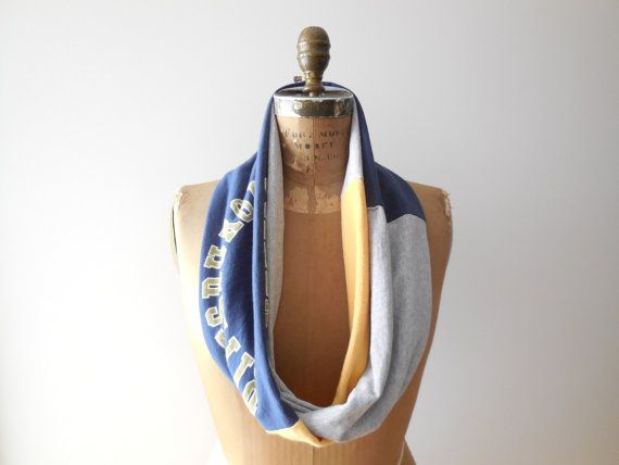 University of Pittsburgh T Shirt Infinity Scarf / PITT / by ohzie #pittsburgh #panthers #pitt #football #basketball #sports #women #shopping #holiday #christmas