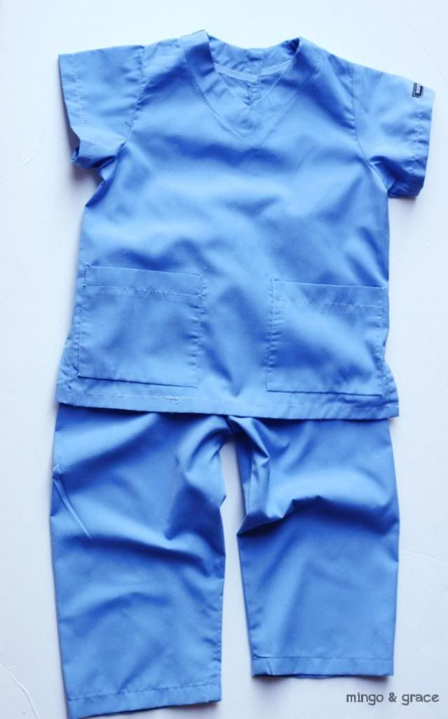 mingoandgrace.com | DIY Toddler Boy Doctor Costume.. Opy wants to be a doctor. May have to buy his!