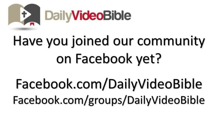 December 16 Micah 4 and 5 Old Testament for the Daily Video Bible Join us on Facebook at http://www.facebook.com/groups/DailyVideoBible/.  Our group is a safe place to ask questions about God & the Bible, receive encouragement, have your needs prayed for & share in the community of God.    Scripture quoted by permission of the NET Bible® copyright ©1996-2006 All Rights Reserved