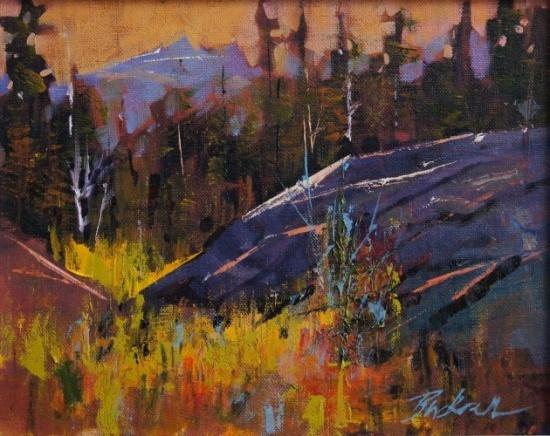 Strathcona Autumn  Oil 8x10