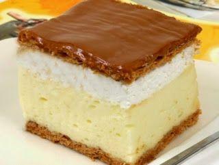 TutiReceptek és hasznos cikkek oldala: Franciakrémes recept – A klasszikus magyar krémes sütemény, amelyet egyszerűen csak krémesnek hívunk