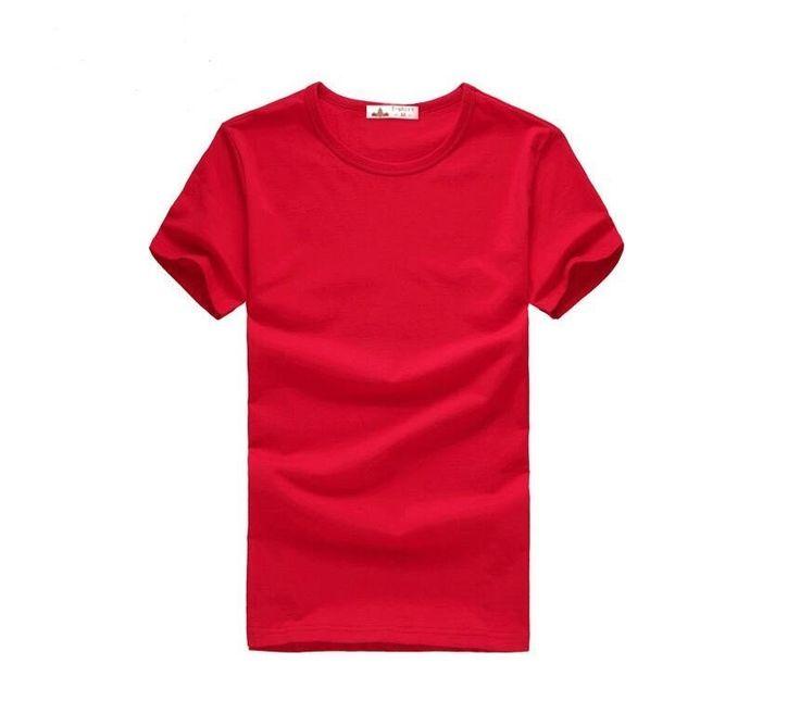 Pánské jednobarevné triko s krátkým rukávem červené – VELIKOST L Na tento produkt se vztahuje nejen zajímavá sleva, ale také poštovné zdarma! Využij této výhodné nabídky a ušetři na poštovném, stejně jako to udělalo již …