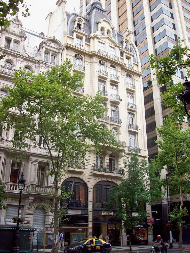 Avenida de Mayo Pasaje Urquiza Anchorena Buenos Aires Argentina