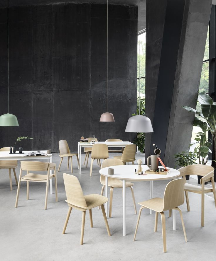 designstuff is a proud melbourne stockist of the muuto ambit pendant lamp in green contact us for more details on 03 9592 2960 - Linoleum Restaurant Interior