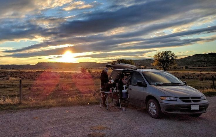The Resume Gap - Camping in Wyoming