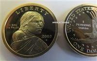 2008-S Proof Sacagawea Dollar