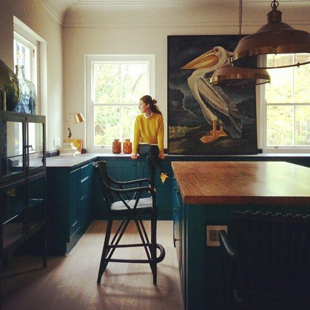 Regraming the sublimely talented @deanva photo of the equally talented and sublimely attractive @camilthrill. Recent kitchen done with @craigkaplan & Camilla Whiteman of Pezula Interiors. #copper #green #pelican #kitchen #sublime