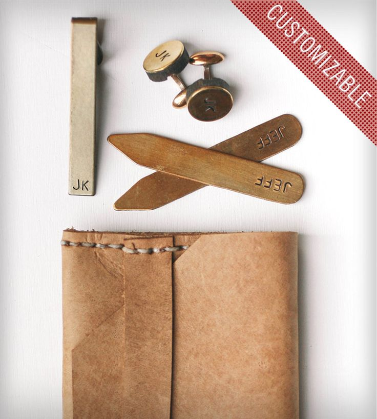 Custom Groomsmen Suit Accessory Kit with Leather Case | Men's Accessories | estieMade | Scoutmob Shoppe