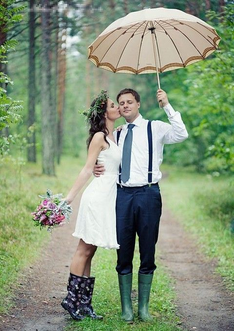 30 Ideas To Handle Rain On Your Big Day