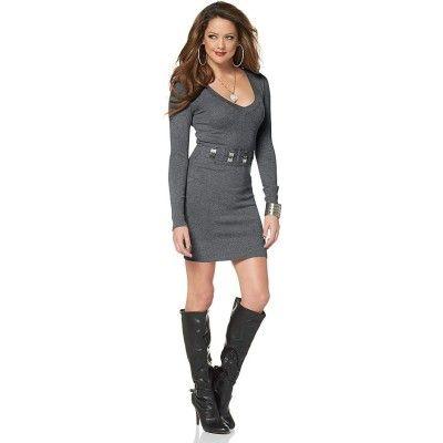 #budgetfashion #grey #dress #girls #fashion