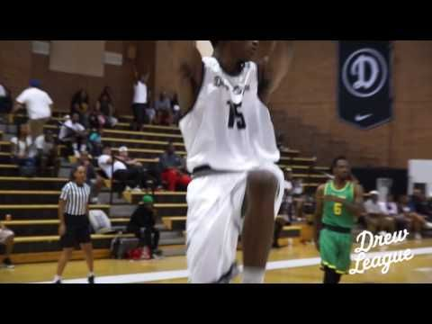 Metta World Peace shared the court with his son, Ron Arrest III on Father's Day. Visit DrewLeague.com for more on the Drew League.