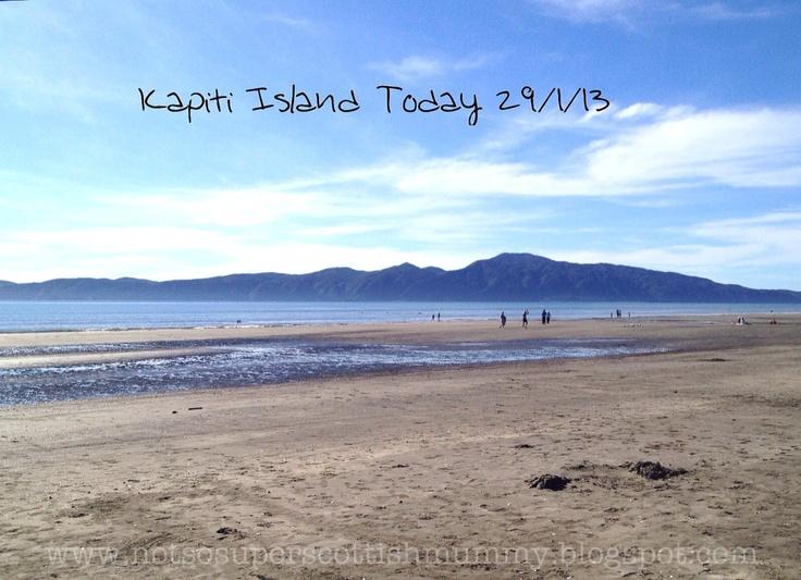Not So Super Scottish Mummy: Kapiti Island Today 29/1/13