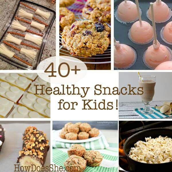 40+ Healthy Snacks for Kids