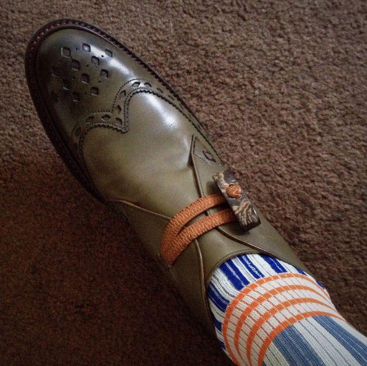 Christmas presents... Shoes, Jeffrey West. Socks, Vivienne Westwood.