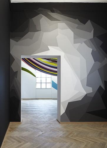 42 meilleures images du tableau mur graphique en peinture de s verine levasseur sur pinterest. Black Bedroom Furniture Sets. Home Design Ideas